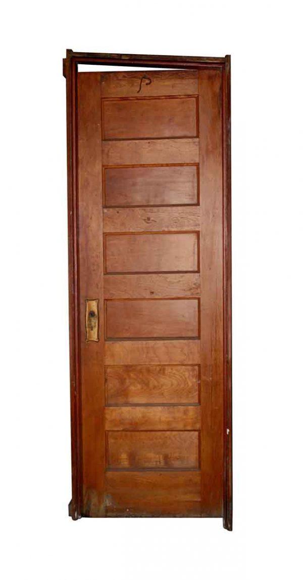 Standard Doors - Antique 6 Pane Wood Passage Door with Frame 79.75 x 26.5