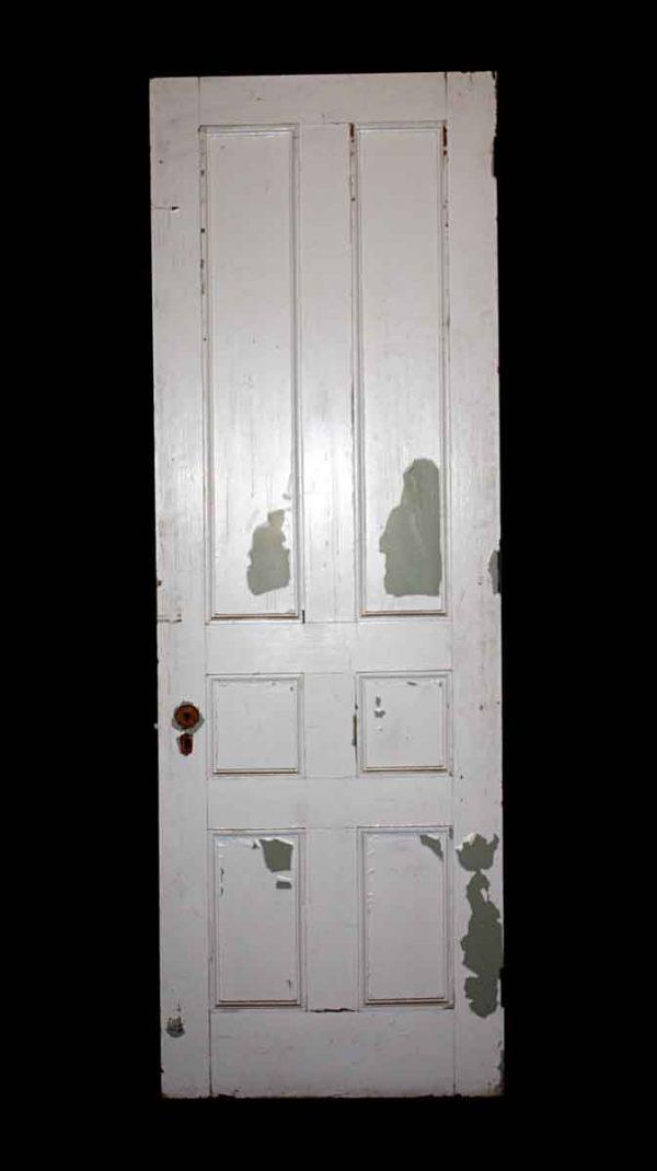 Standard Doors - Antique 6 Pane Wooden Passage Door 89.5 x 29.5
