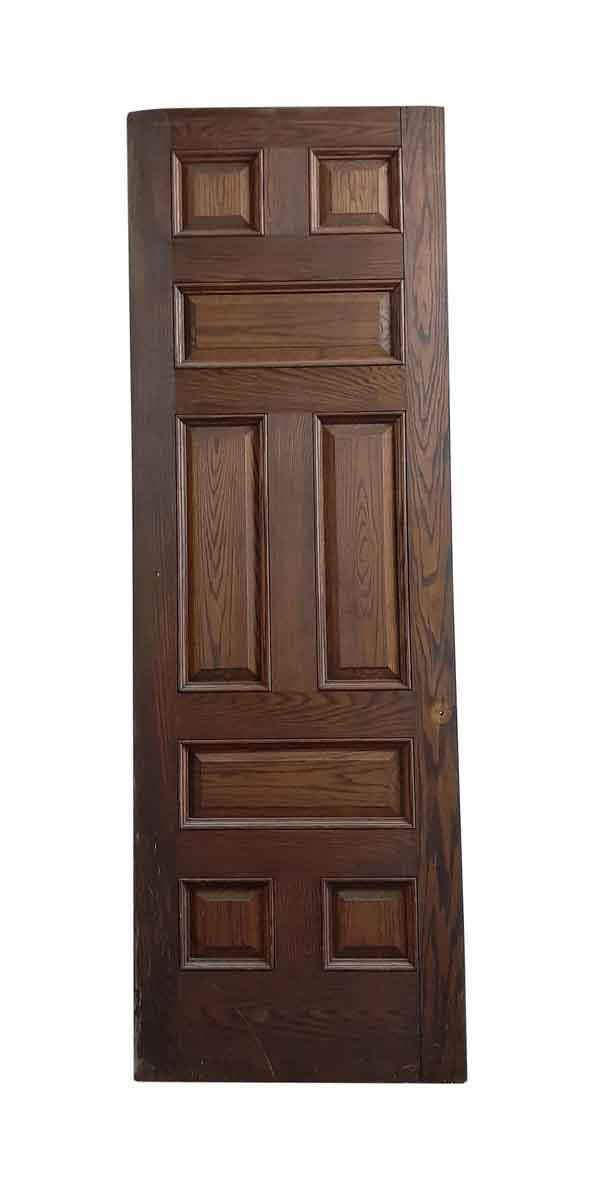 Standard Doors - Antique 8 Pane Oak Passage Door 108 x 36
