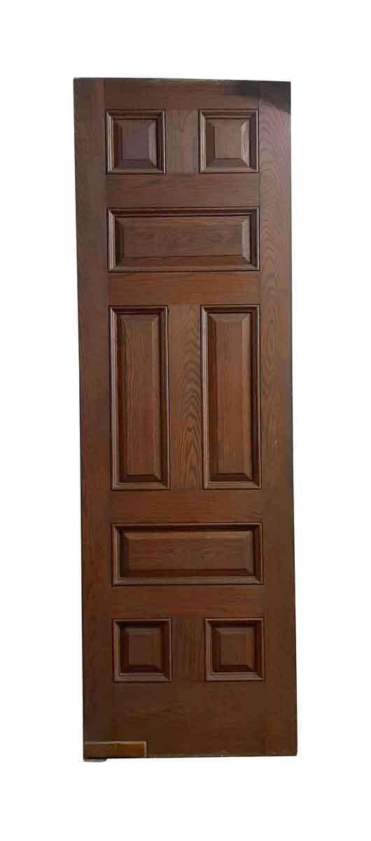 Standard Doors - Antique 8 Pane Oak Swinging Door 105 x 33.625