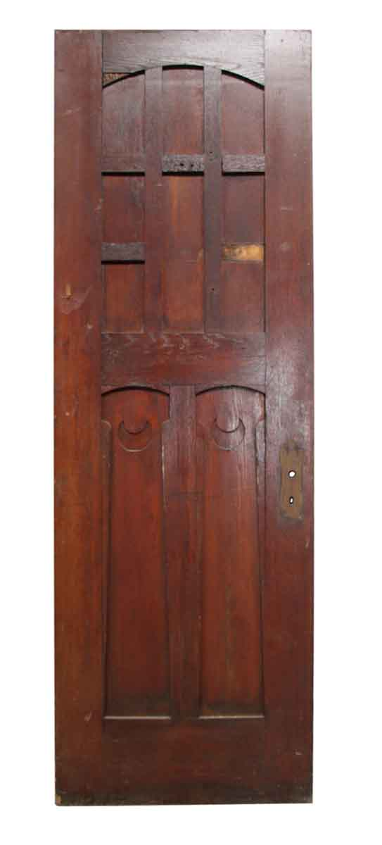 Standard Doors - Antique 9 Arched Panel Passage Door 90 x 30