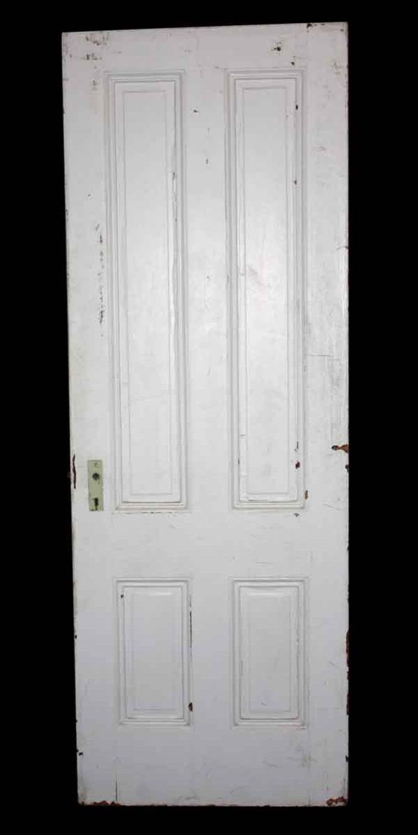 Standard Doors - Antique White 4 Pane Passage Door 83.5 x 29.75