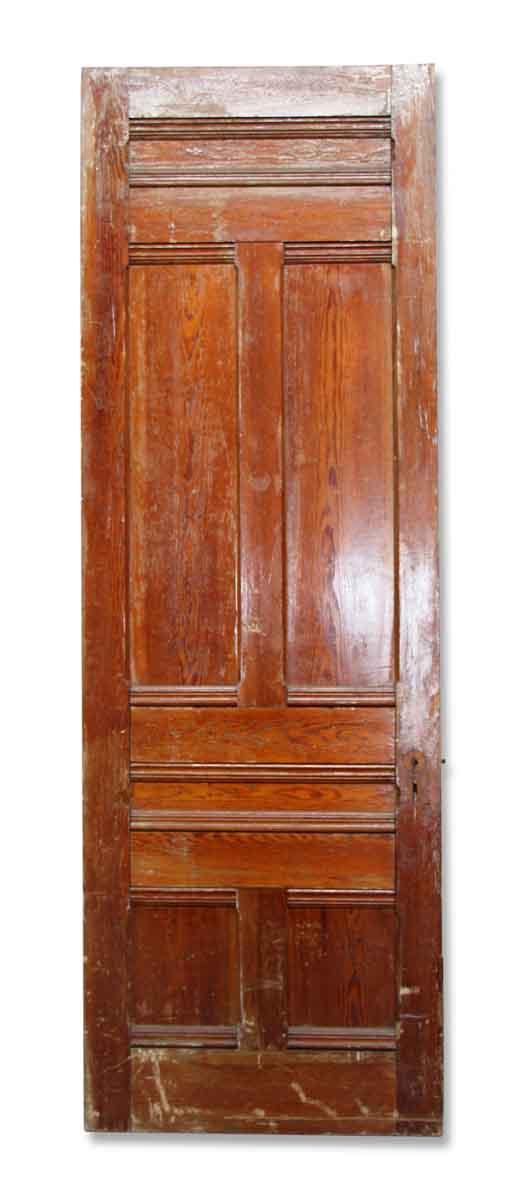Standard Doors - Salvaged 6 Pane Wood Passage Door 91.5 x 32