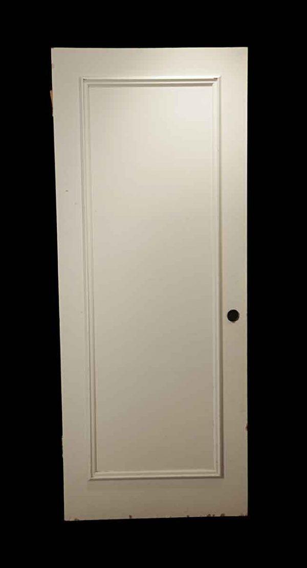 Standard Doors - Vintage 1 Pane White Wood Passage Door 79.25 x 32.125