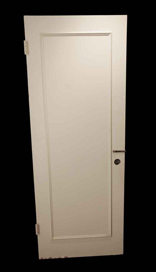 Standard Doors - Vintage 1 Pane White Wood Passage Door 79.375 x 30