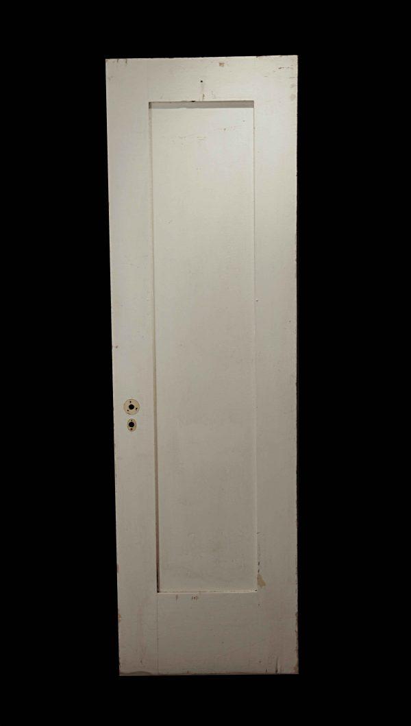 Standard Doors - Vintage 1 Pane White Wood Passage Door 79.625 x 24
