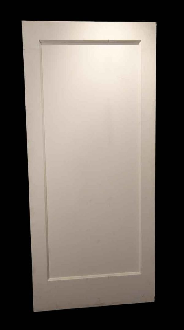 Standard Doors - Vintage 1 Pane White Wood Passage Door 80 x 36