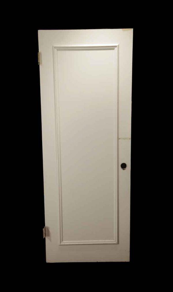 Standard Doors - Vintage 1 Panel White Wood Passage Door 79 x 30