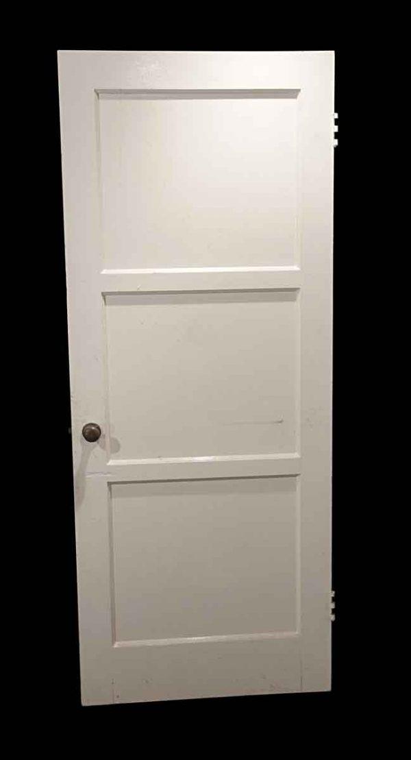 Standard Doors - Vintage 3 Pane Wood Passage Door 78.75 x 31.75