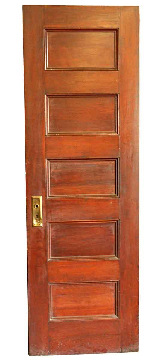 Standard Doors - Vintage 5 Pane Oak Passage Door 79.5 x 26
