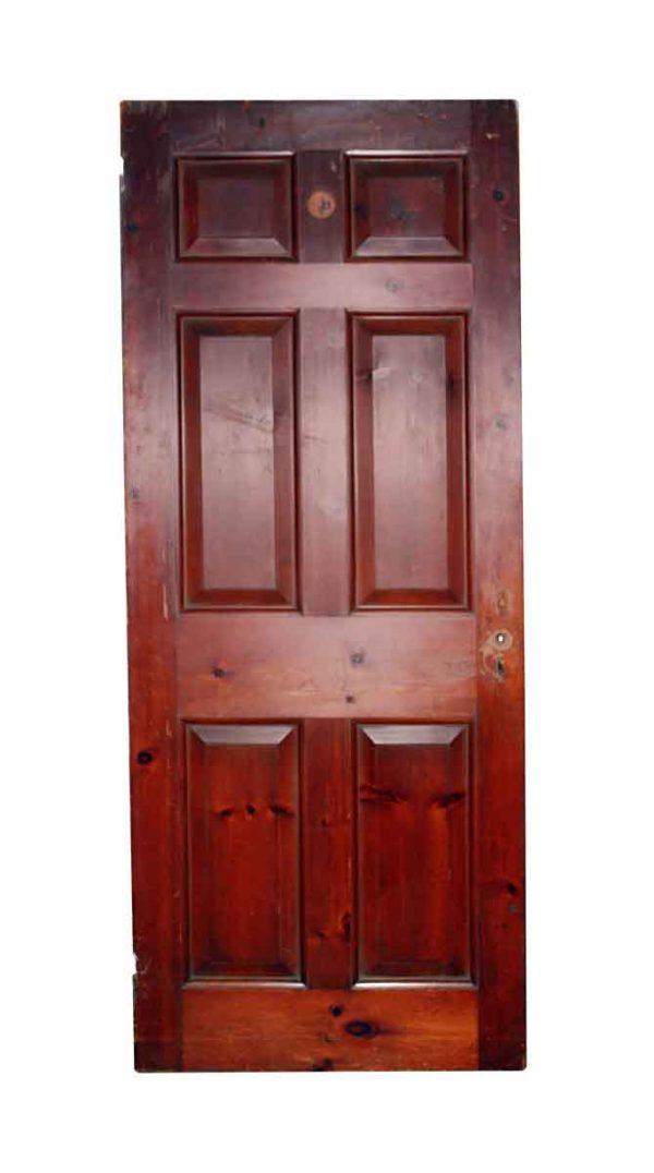 Standard Doors - Vintage 6 Pane Wood Passage Door 78 x 31.75