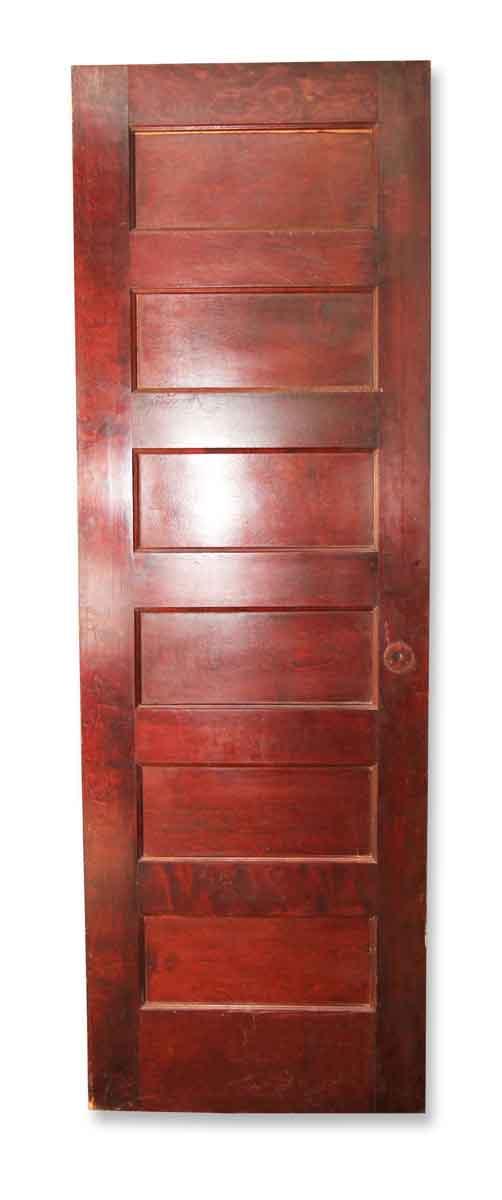 Standard Doors - Vintage 6 Pane Wood Passage Door 84 x 27.75