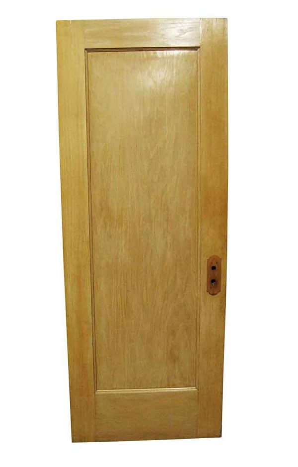 Standard Doors - Vintage Single Pane Oak Passage Door 79.25 x 29.125