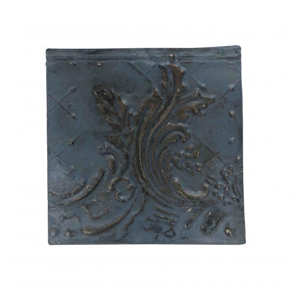 Tin Panels - Antique Blue Asymmetrical Tin Panel