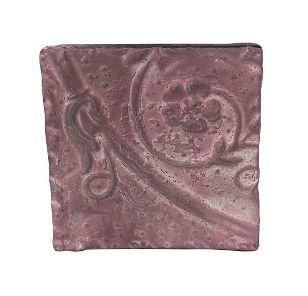 Tin Panels - Antique Pink Asymmetrical Tin Panel