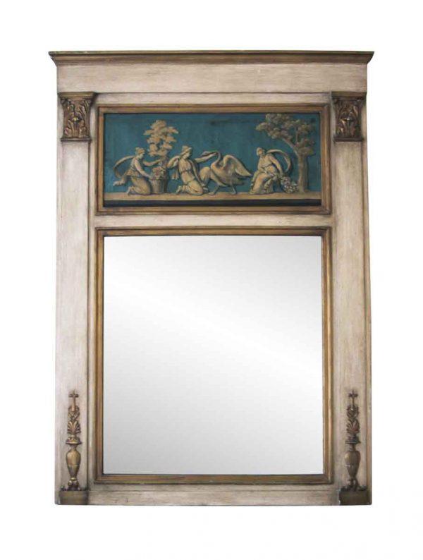 Waldorf Astoria - Figural Over Mantel Mirror from The Waldorf Astoria