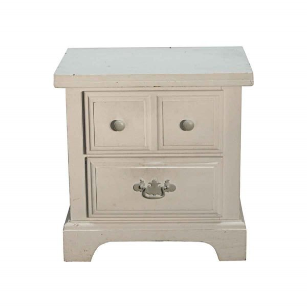Bedroom - Small White Wooden Night Stand