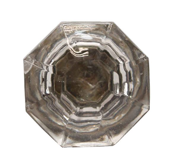 Cabinet & Furniture Knobs - 1.75 in. Vintage Glass Octagon Cabinet Knob