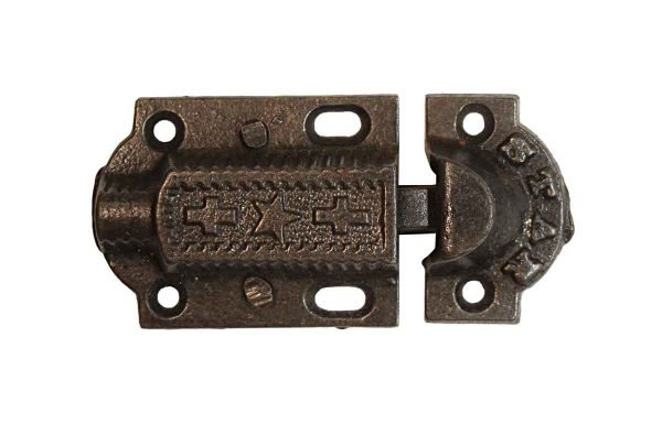 Cabinet & Furniture Latches - Vintage Rustic 2.75 in. Cast Iron Star Cabinet Latch