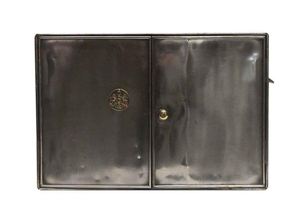 Cabinets - Industrial 2 Door Steel Storage Table Top Unit