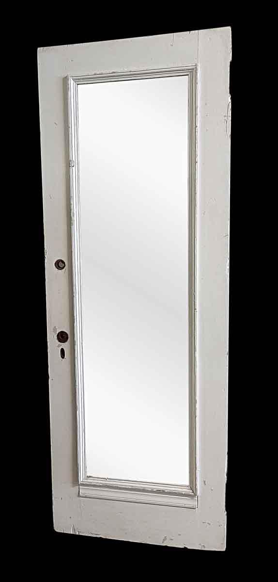 Closet Doors - Antique Mirror Pane Closet Door 83.5 x 29.875