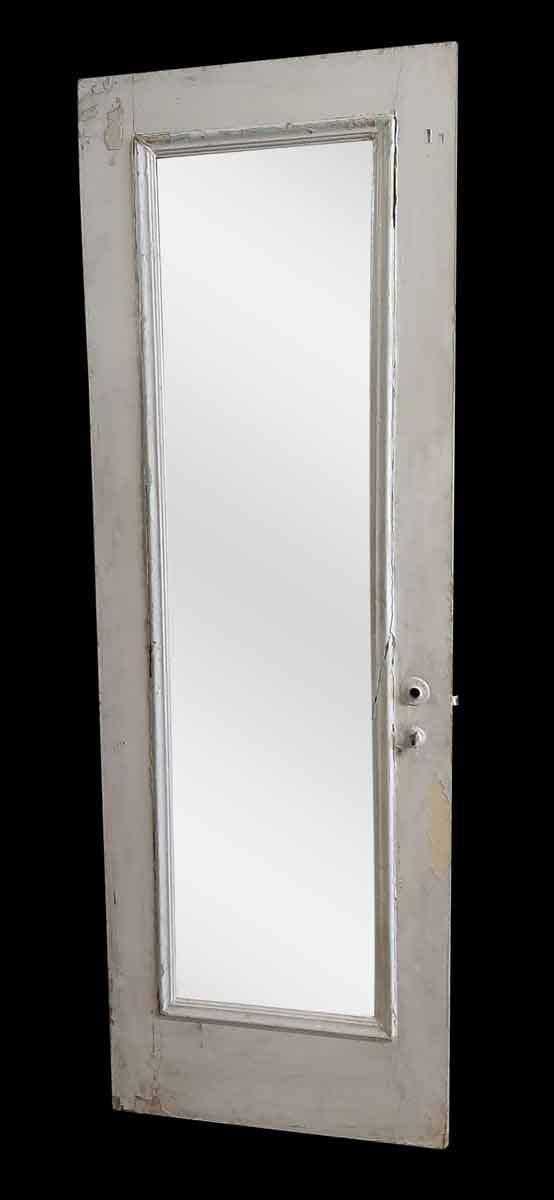Closet Doors - Antique Mirror Pane Closet Wood Door 83 x 23.75