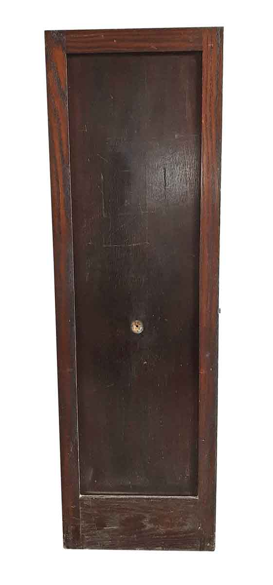 Closet Doors - Antique Mirror Pane Oak Closet Door 77 x 23.75