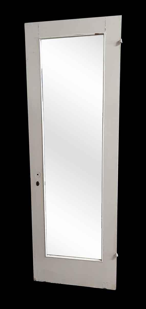 Closet Doors - Antique Mirror Pane Wood Closet Door 83.25 x 27.875