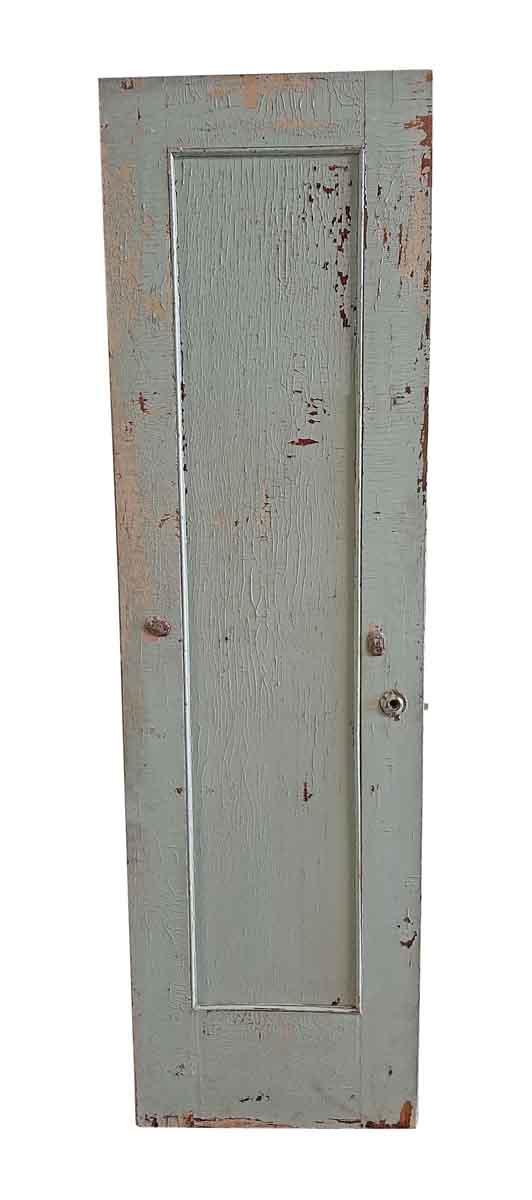 Closet Doors - Antique Mirrored Pane Wood Closet Door 83.5 x 24