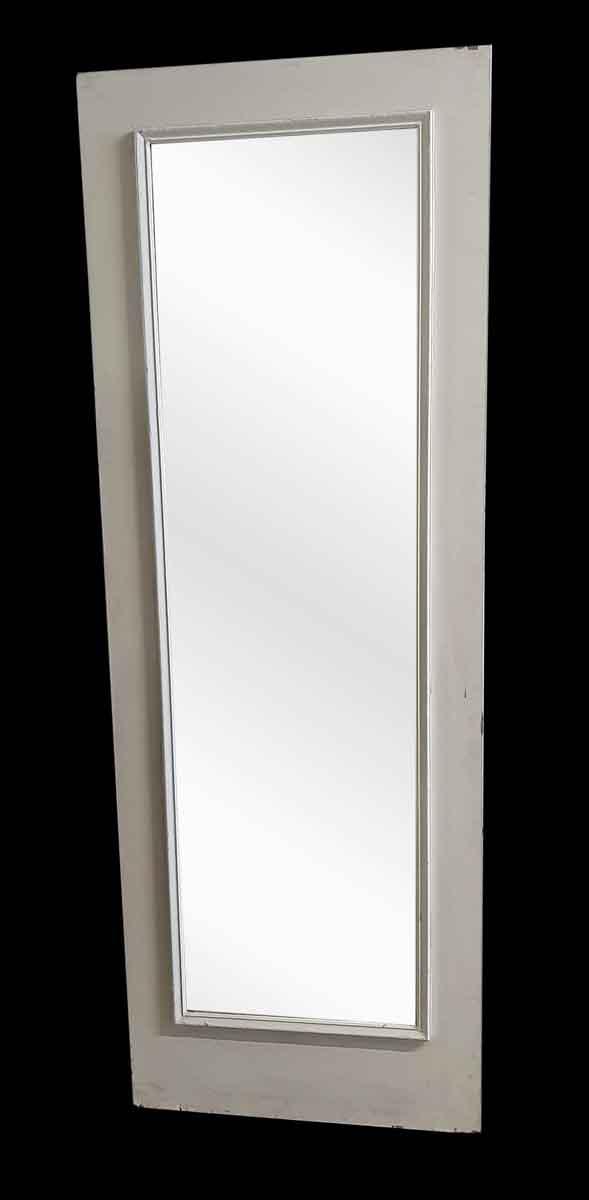 Closet Doors - Vintage Mirror Pane Wood Closet Door 83.75 x 29.875