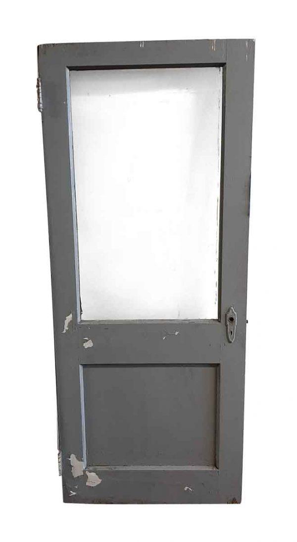 Commercial Doors - Antique 1 Lite 1 Pane Passage Door 76.625 x 32