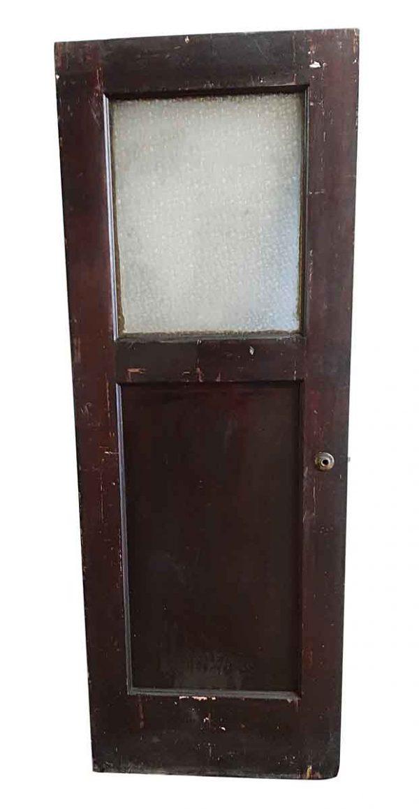 Commercial Doors - Antique 1 Lite 1 Pane Passage Door 81 x 29.5