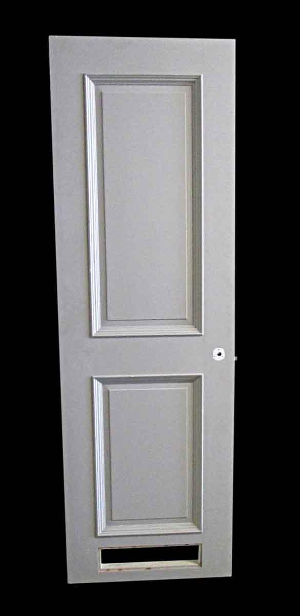 Commercial Doors - Antique 2 Pane Wood Commercial Door 84 x 26.875