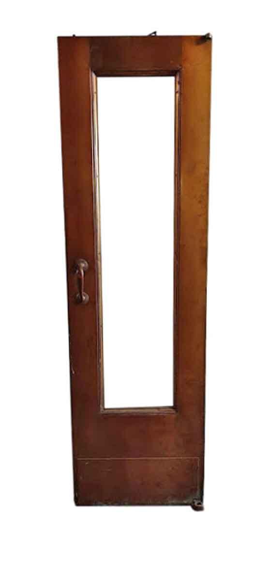 Commercial Doors - Antique Single Lite Bronze Commercial Door 84 x 25
