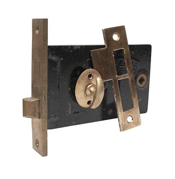 Door Locks - Sargent Brass & Cast Iron Deep Backset Mortise Door Lock Set