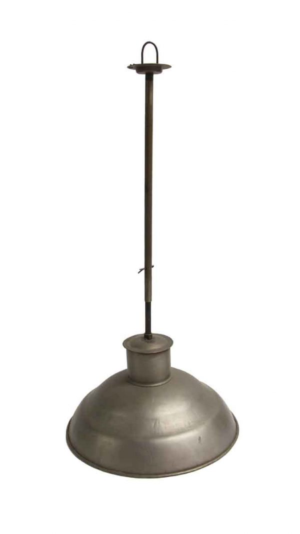 Down Lights - Reclaimed Industrial Steel 16 in. Pendant Light