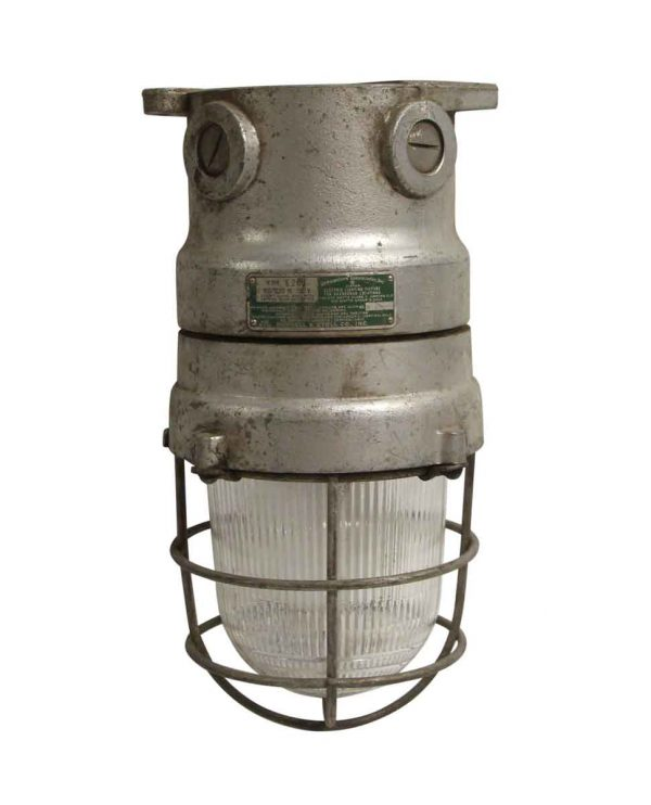 Industrial & Commercial - Reclaimed Russell & Stoll Co Industrial Ceiling Light