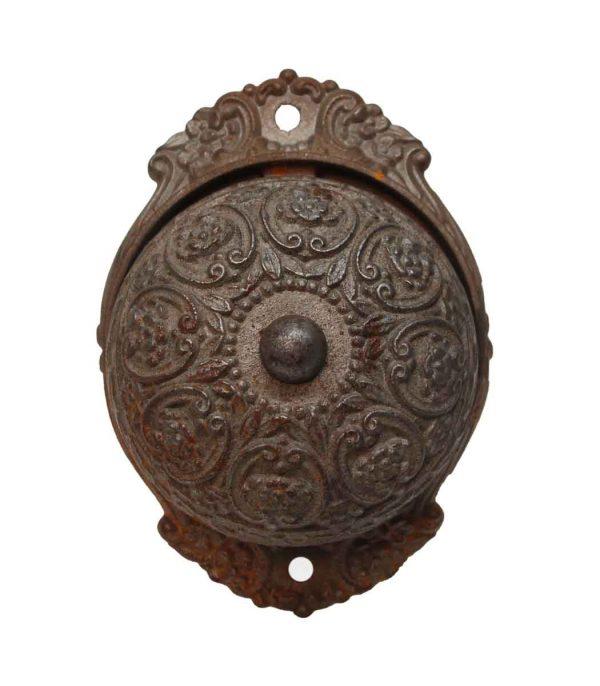 Knockers & Door Bells - Antique Cast Iron Russell & Erwin Doorbell