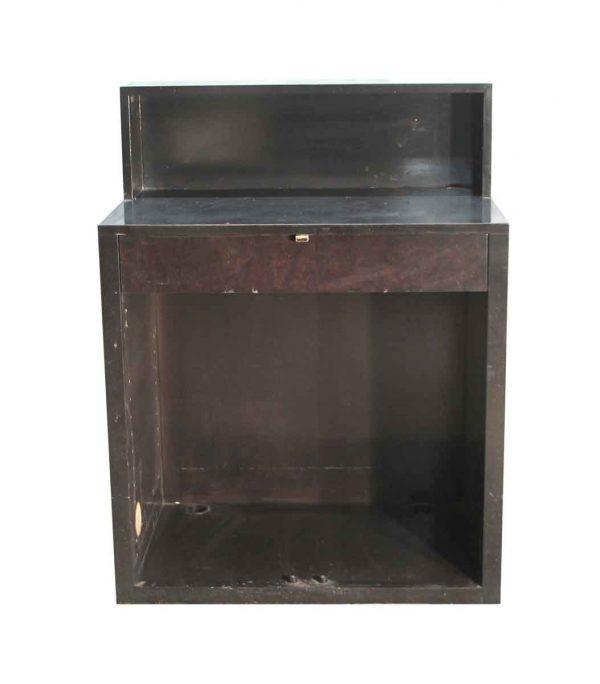 Office Furniture - Mid Century Dark Wood Desk or Counter