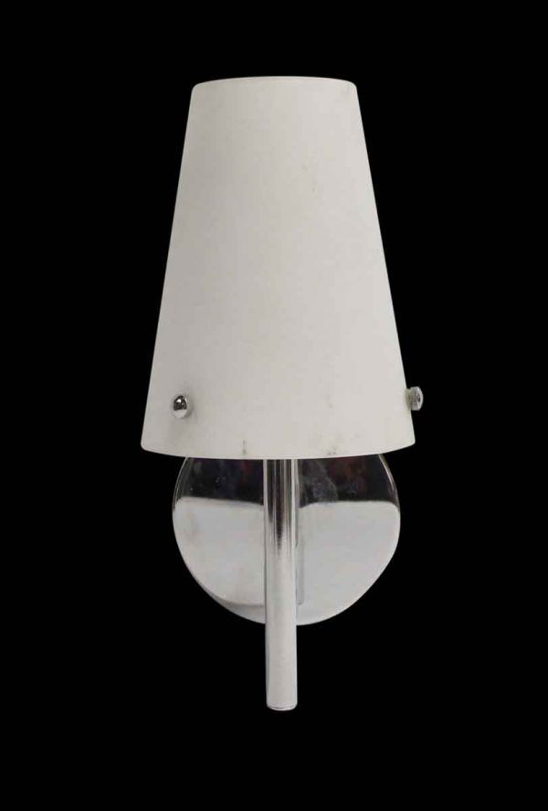 Sconces & Wall Lighting - Modern Glass & Chrome Plated Wall Sconce