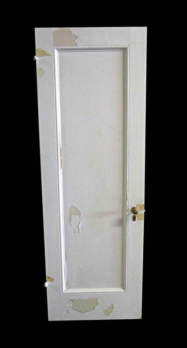 Standard Doors - Antique 1 Pane White Wood Passage Door 80.5 x 27.75