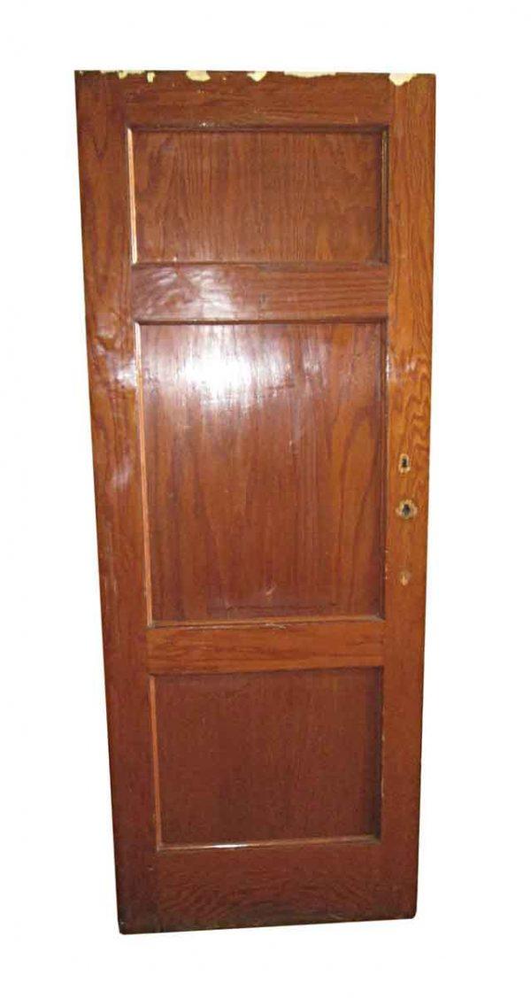 Standard Doors - Antique 3 Pane Oak Passage Door 83 x 32