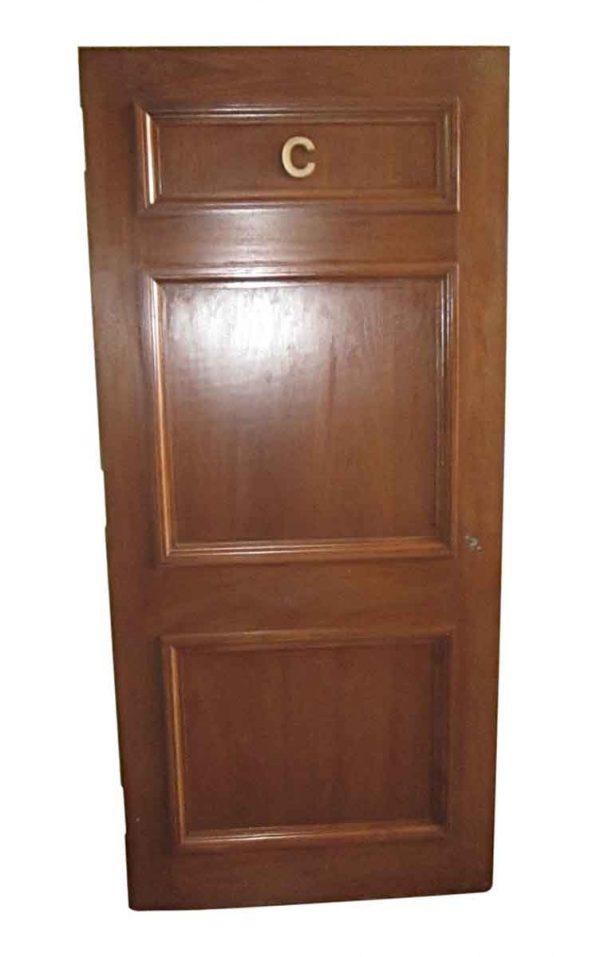 Standard Doors - Antique 3 Pane Wood Passage Door 78 x 35.75
