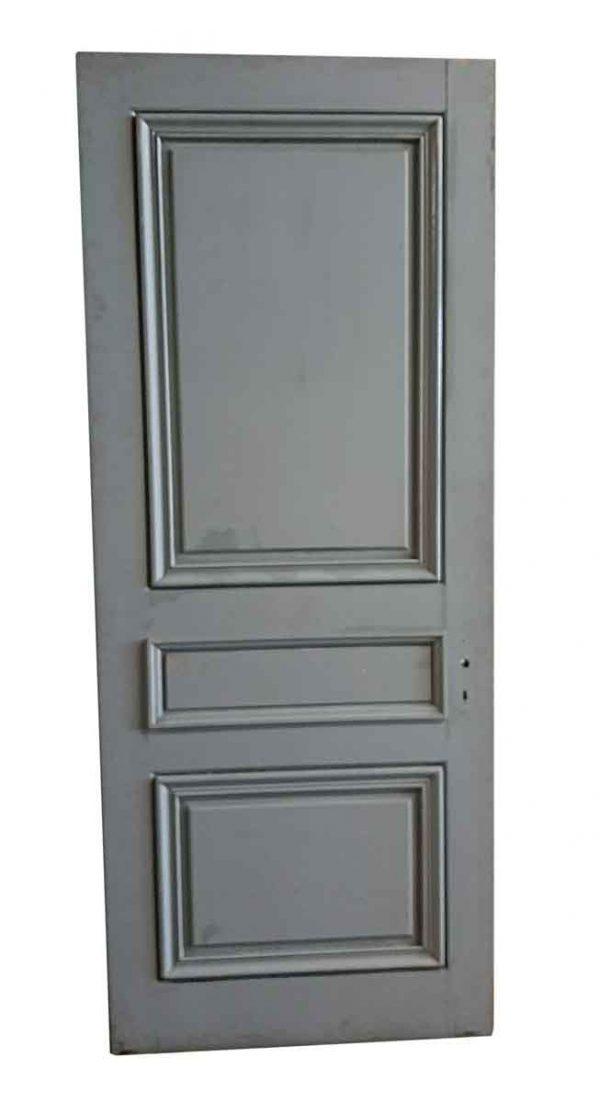 Standard Doors - Antique 3 Pane Wood Passage Door 88 x 35.75