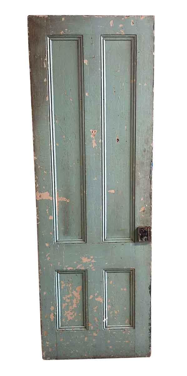 Standard Doors - Antique 4 Pane Wood Passage Door 87 x 29.5
