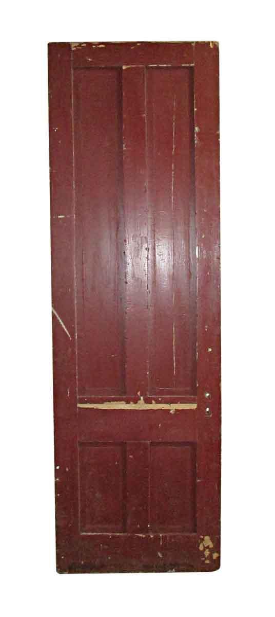 Standard Doors - Antique 4 Pane Wood Passage Door 94.5 x 30