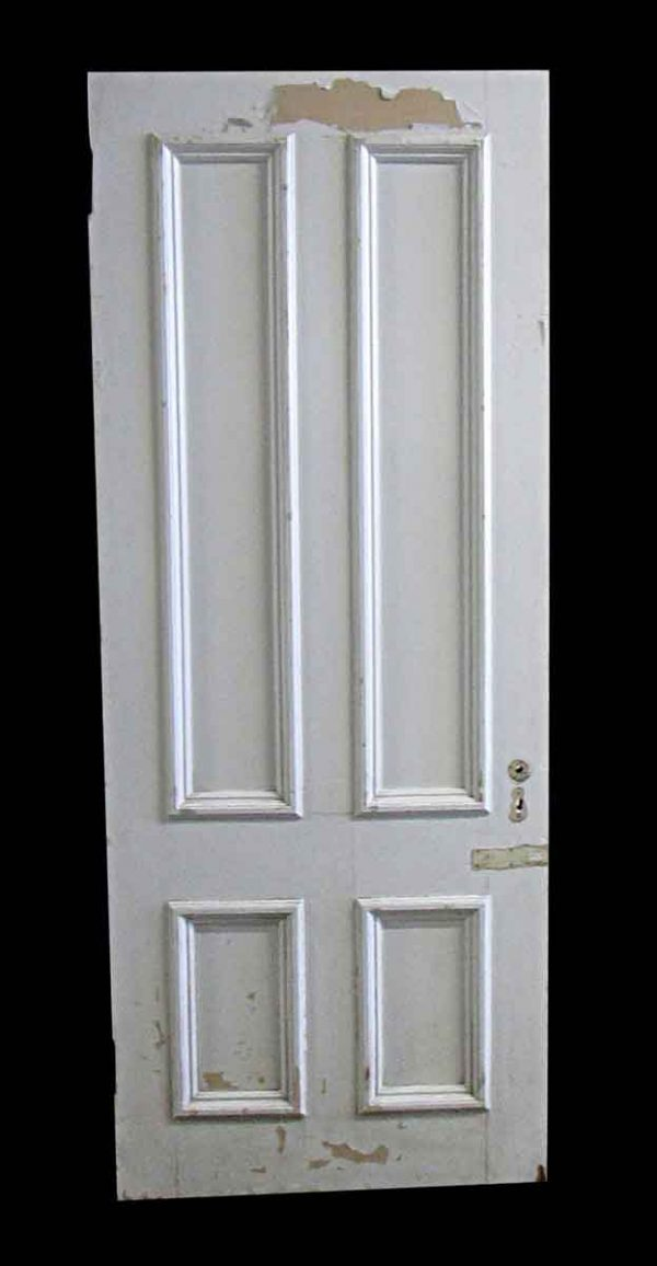 Standard Doors - Antique 4 Pane Wood Passage Door Size Varies