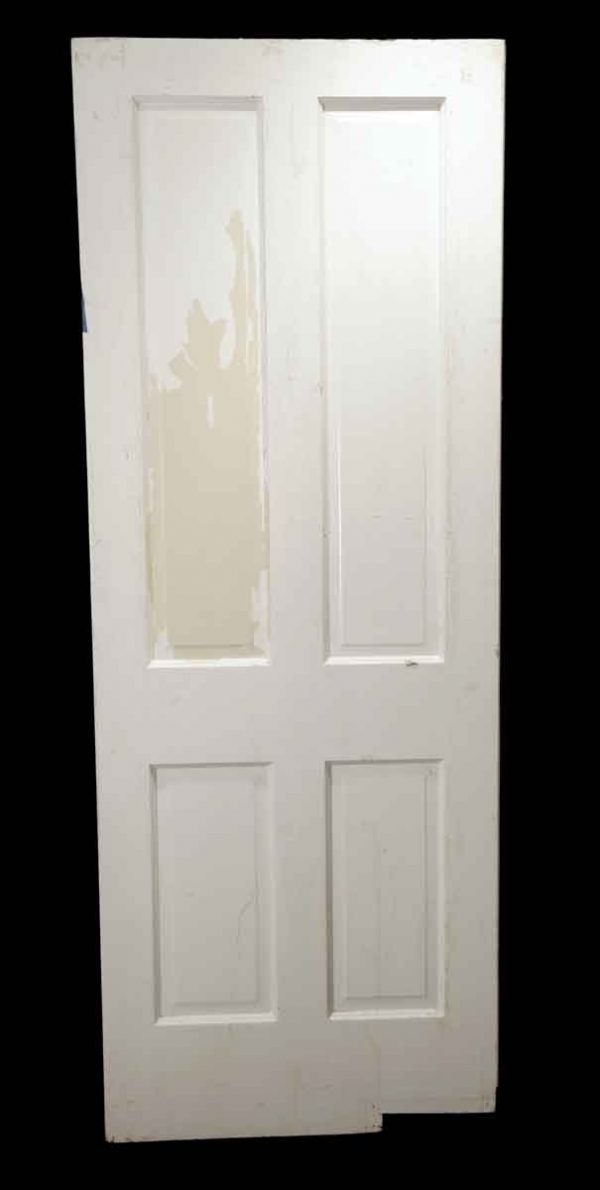 Standard Doors - Antique 4 Pane Wood Swinging Door 79.75 x 29.75