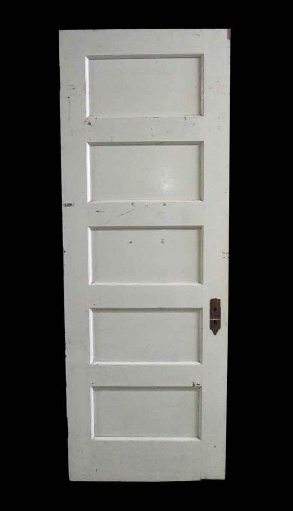 Standard Doors - Antique 5 Pane White Oak Passage Door 88.25 x 32