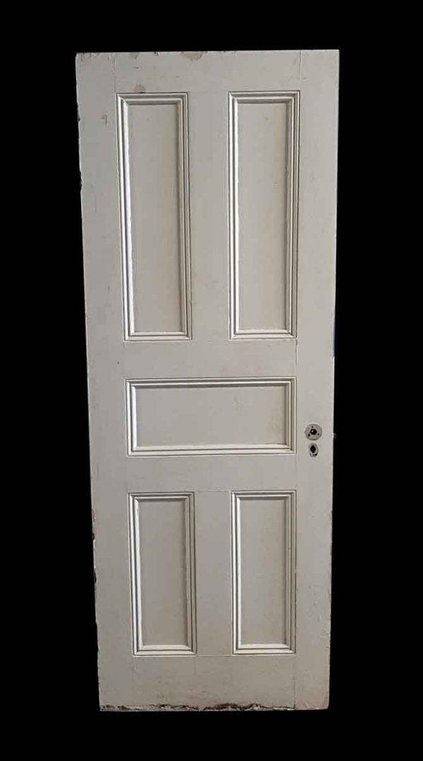 Standard Doors - Antique 5 Pane Wood Passage Door 82 x 29.875